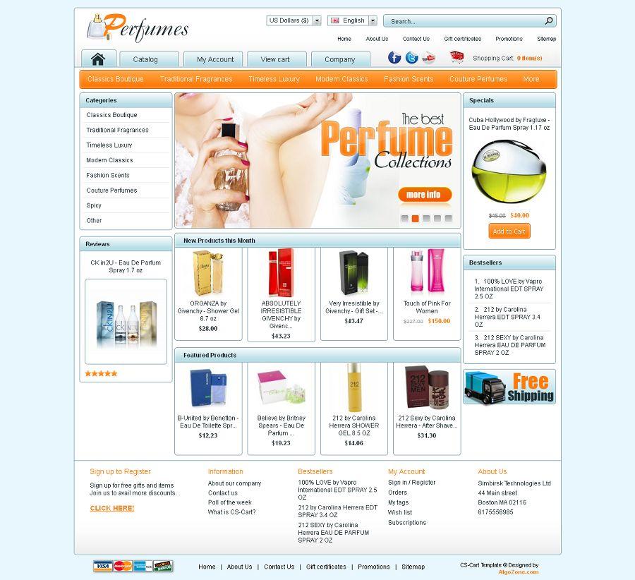 CS03C00524 – Perfume Store