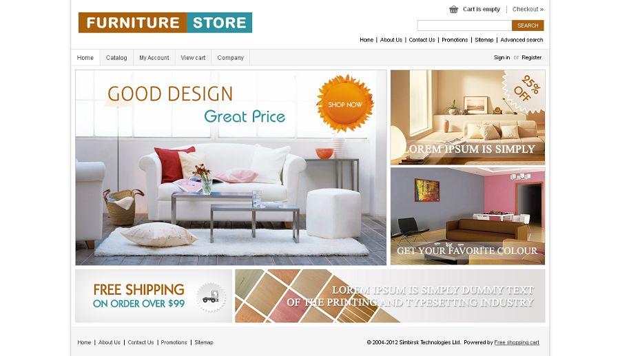 CST010015 – Furniture Store