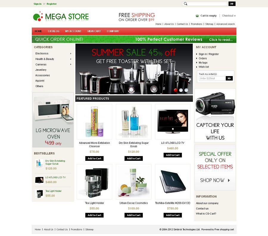 CST010019 – Mega Store