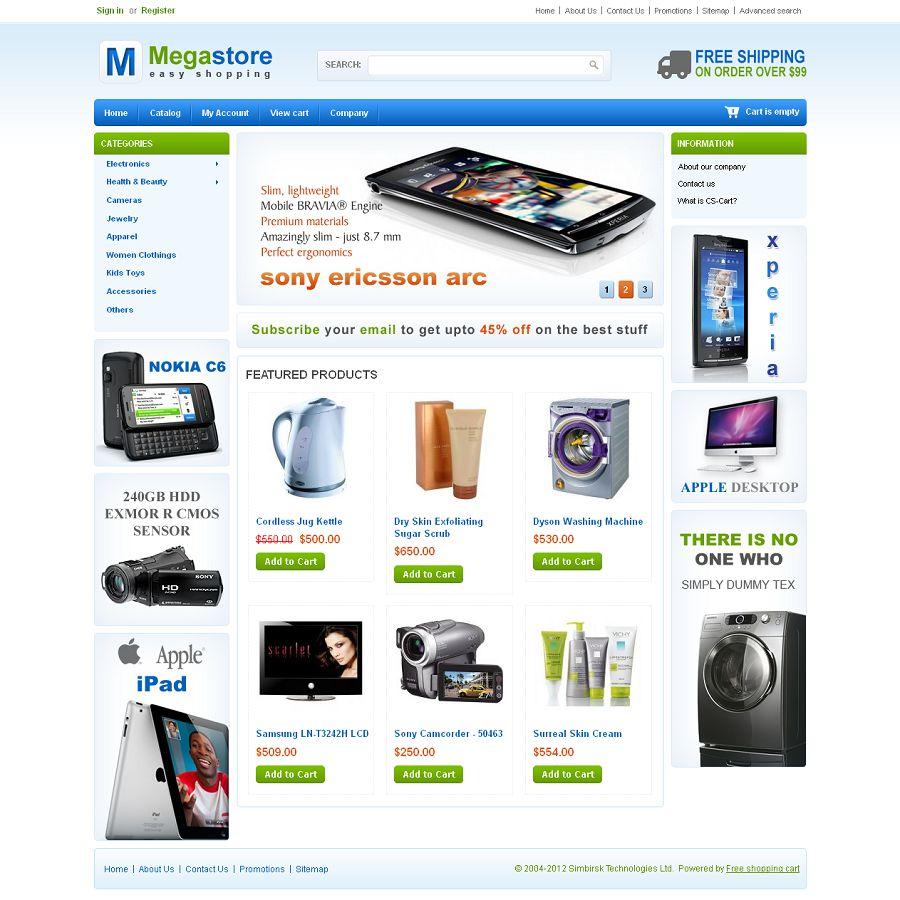 CST010024 – Mega Store