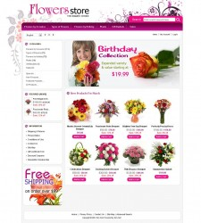 ZEN020041 – Flowers Store