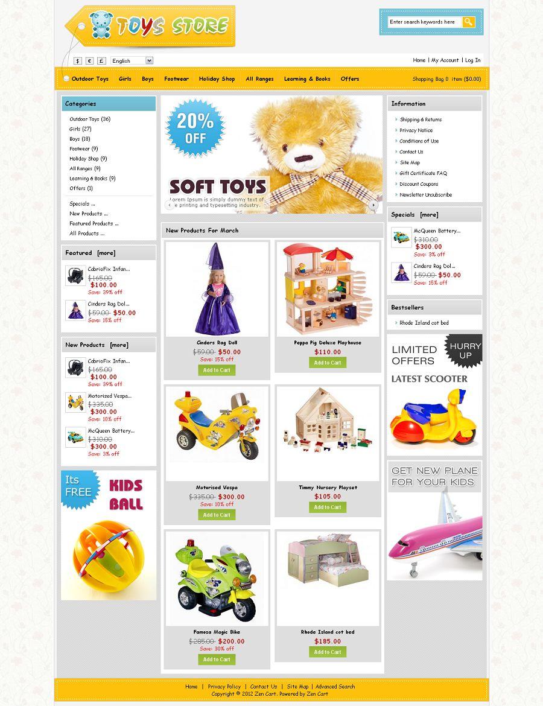ZEN020050 – Toys Store
