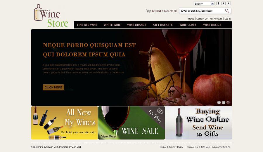 ZEN030055 – Wine Store