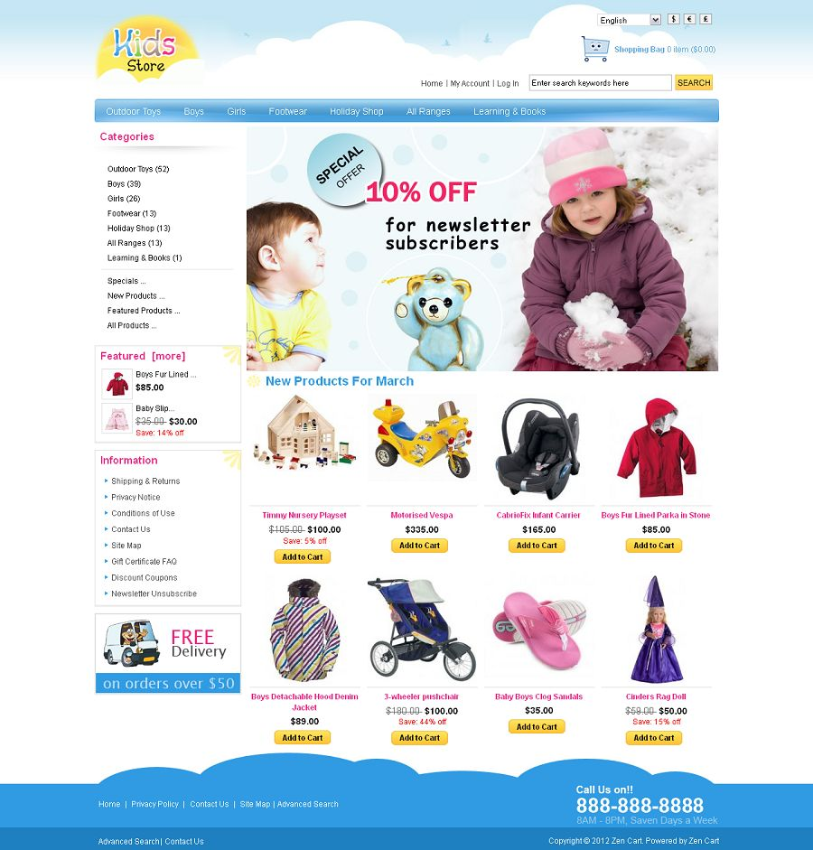 ZEN030056 – Kids Store