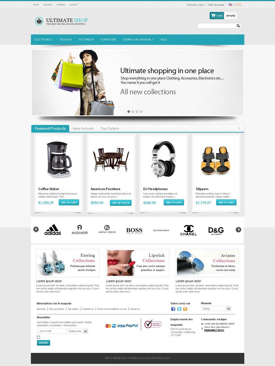 Ultimate Shop Pro - Premium PrestaShop Multi-Purpose Template
