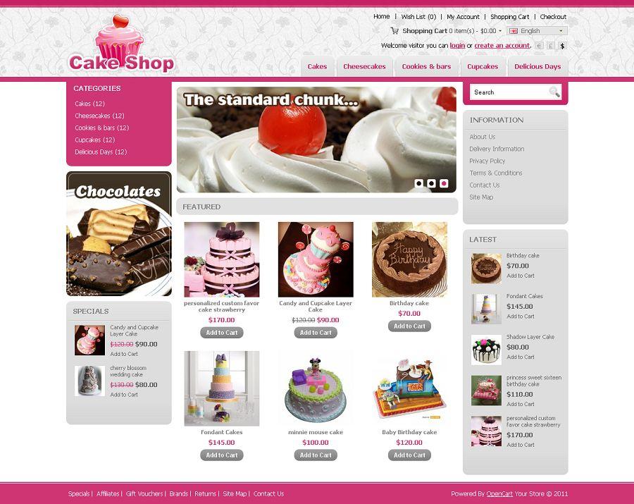 OPC040083 – Cake Store