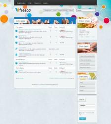 Fresco phpBB3 Style