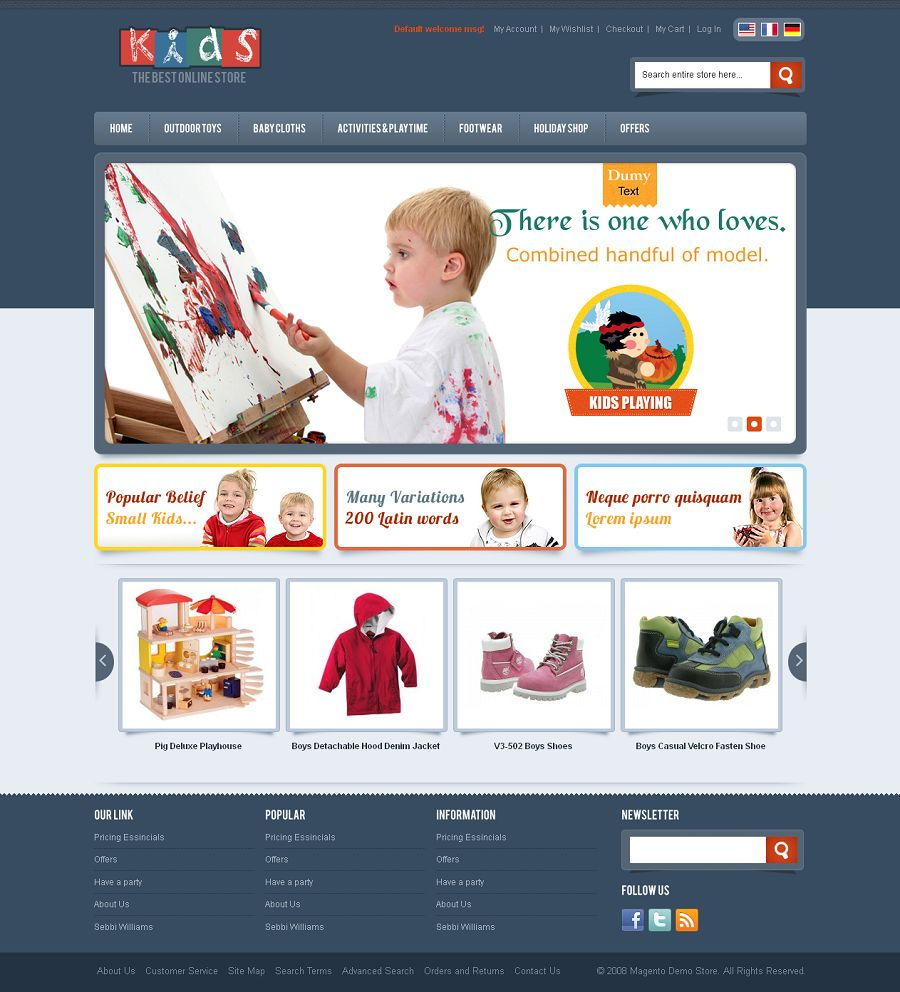 MAG080132 – Kids Store