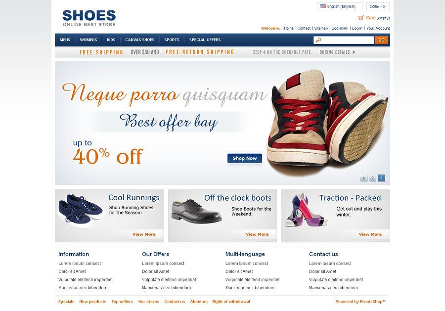 PRS040086 – Shoes Store