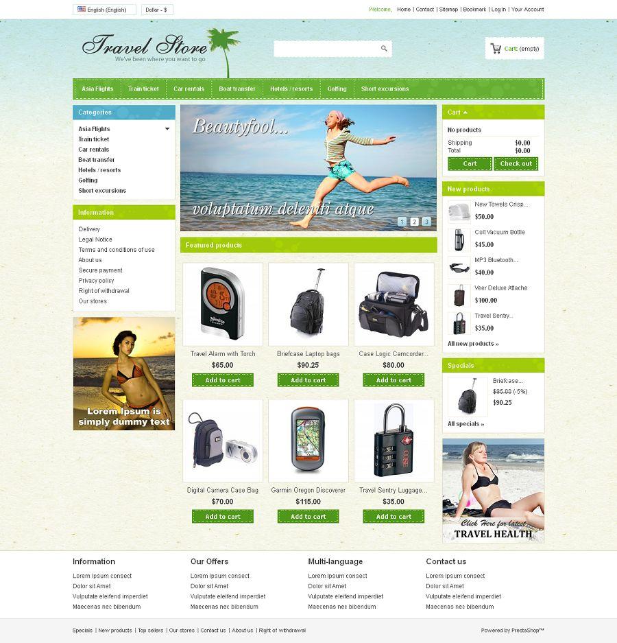 PRS040087 – Travel Store