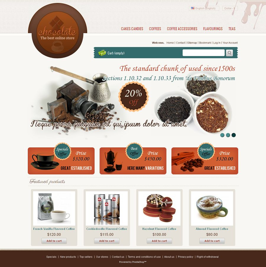 PRS040092 – Chocolate Store