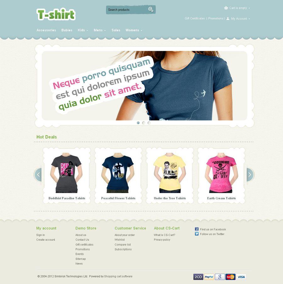 CST020032 – T-Shirt Store