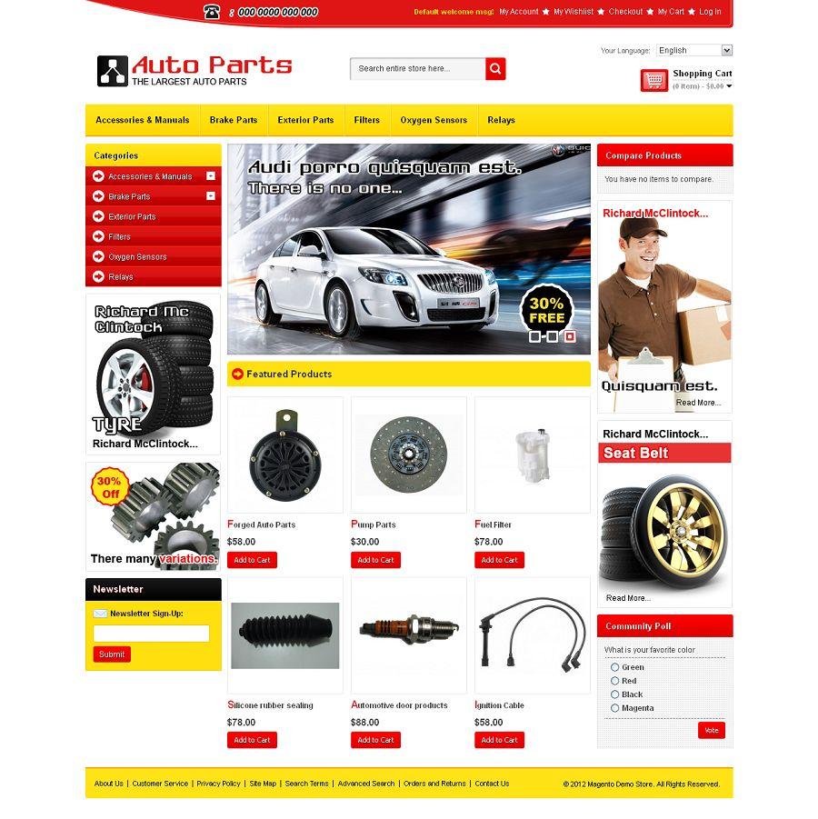 MAG080146 – Auto Parts Store