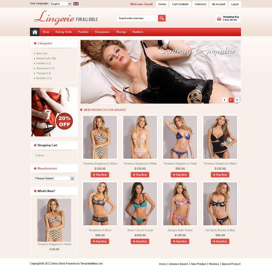 OSC040082 – Lingerie Store