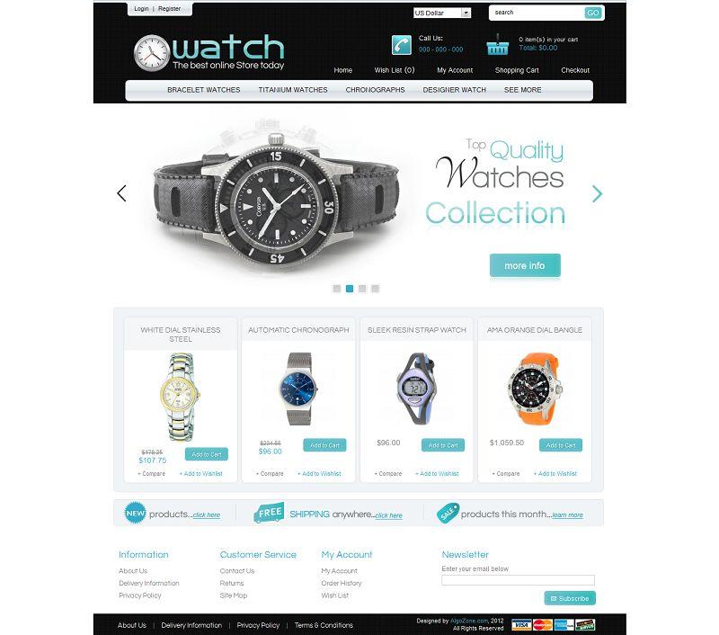 OC01A00552 – Watch Store