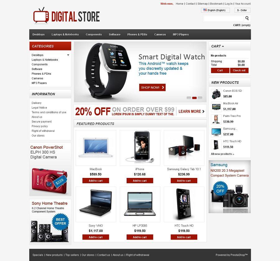 PRS050103 – Digital Store
