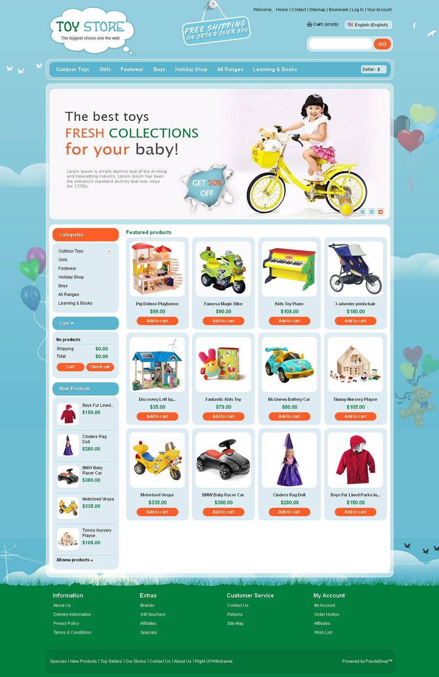 PRS050105 – Toys Store