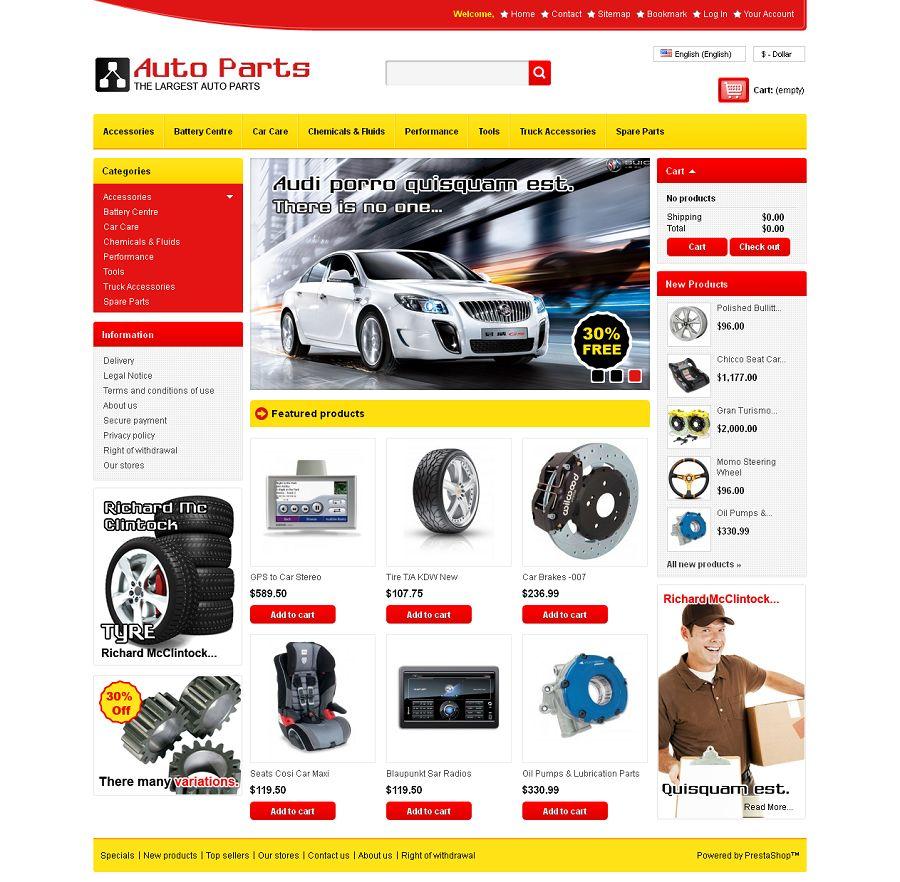 PRS050106 – Auto Parts Store