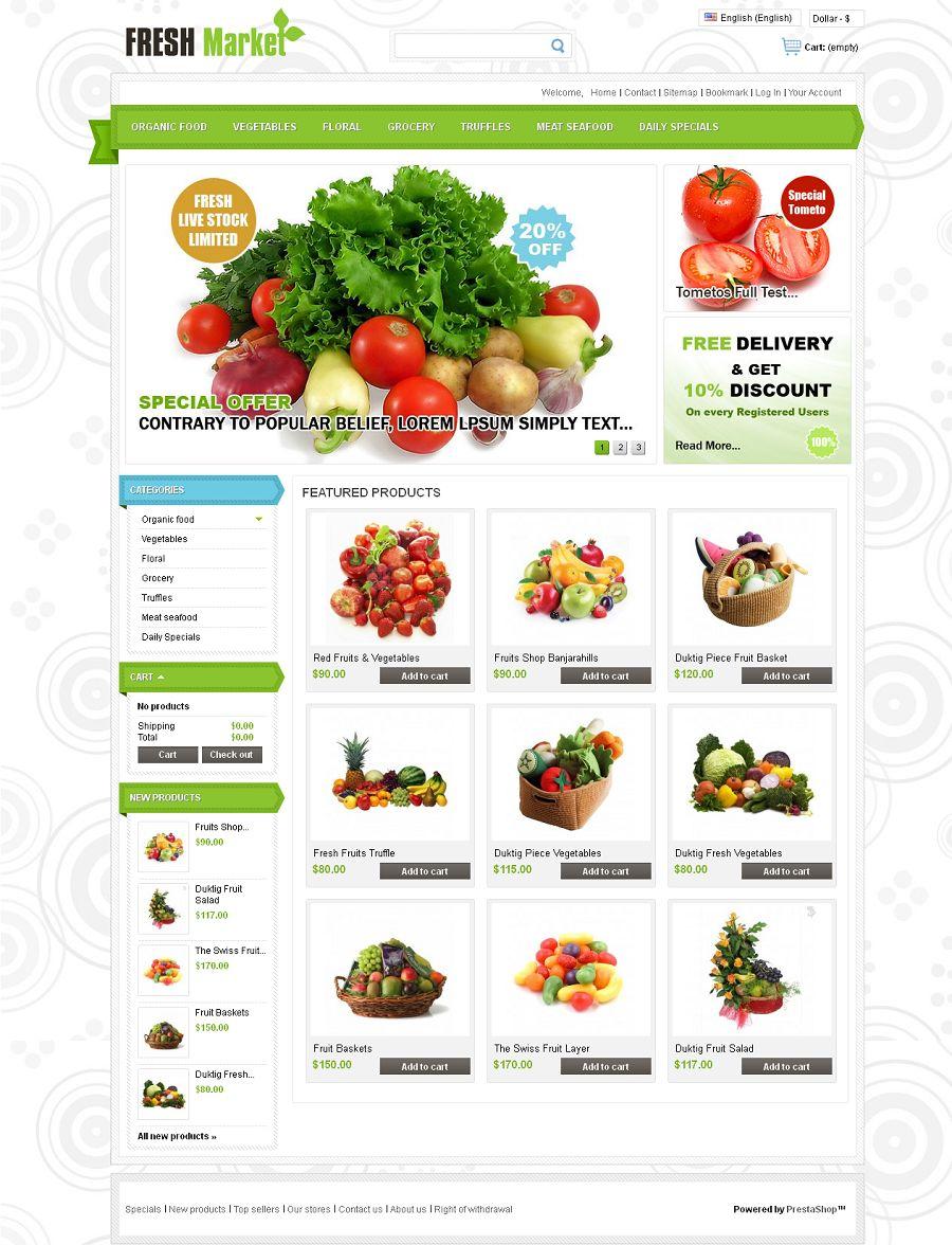 PRS050107 – Fresh Market