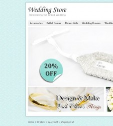 VTM010017 – Wedding Store