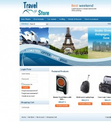 VTM020047 – Travel Store