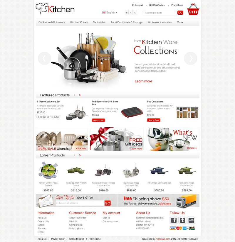 CS03C00551 – Kitchen Store