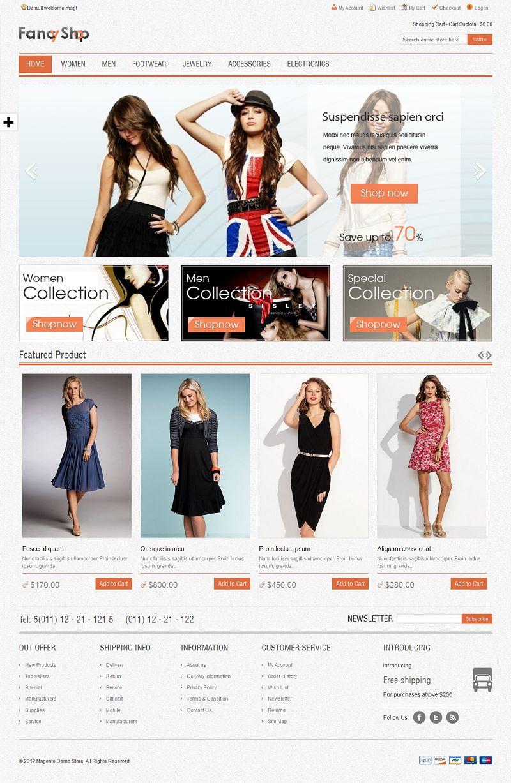 Fancy - Responsive Magento Fashion Store Theme