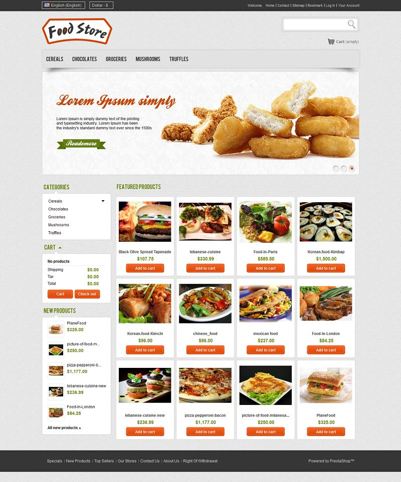 PRS050116 – Food Store