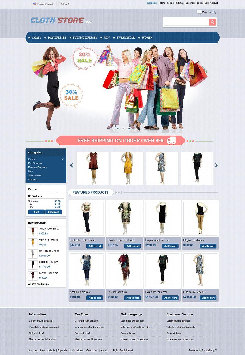 PRS050118 – Clothes Store