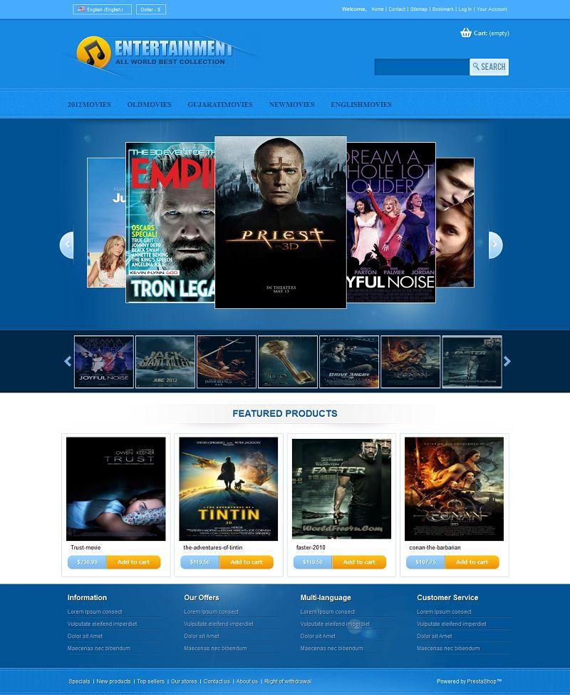 PRS050120 – Entertainment Store