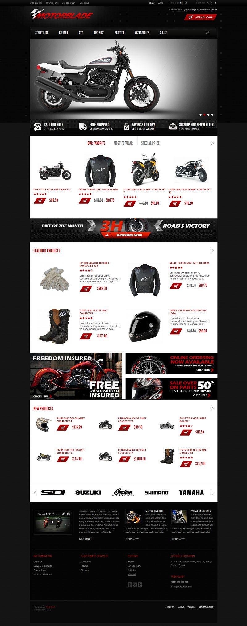 Motorblade – Auto Parts Store