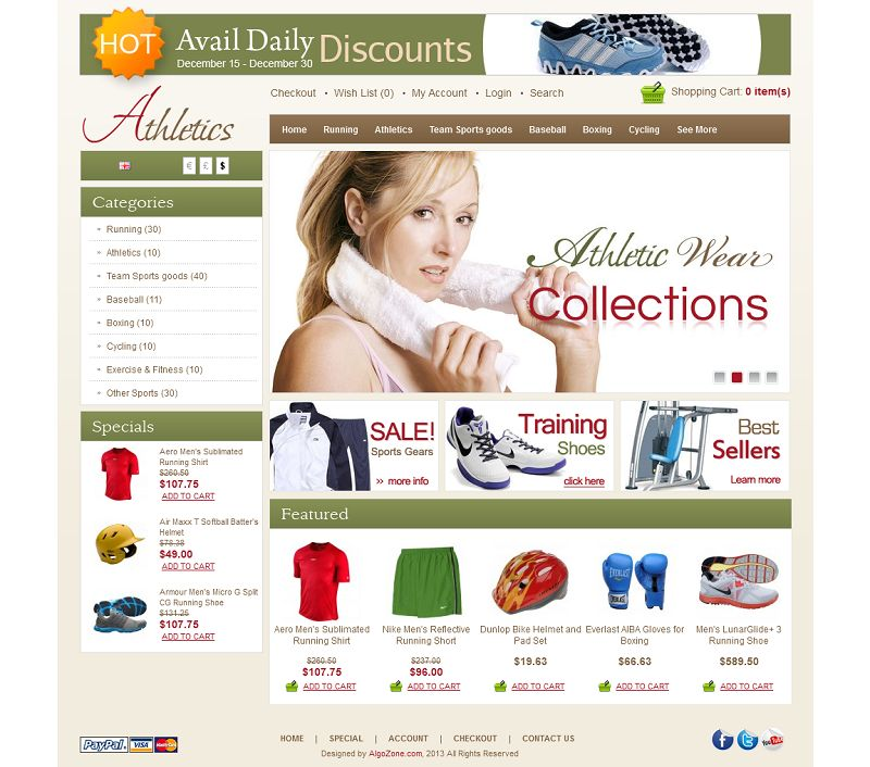OC01A00572 – Sports Store