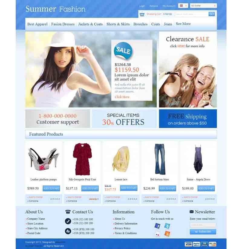 OC01A00586 – Fashion Store