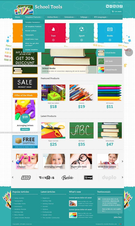 Veneno ecommerce joomla theme | free download.
