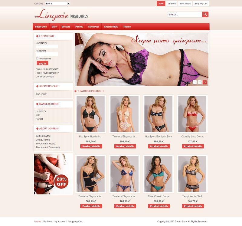 VTM040084 – Lingerie Store