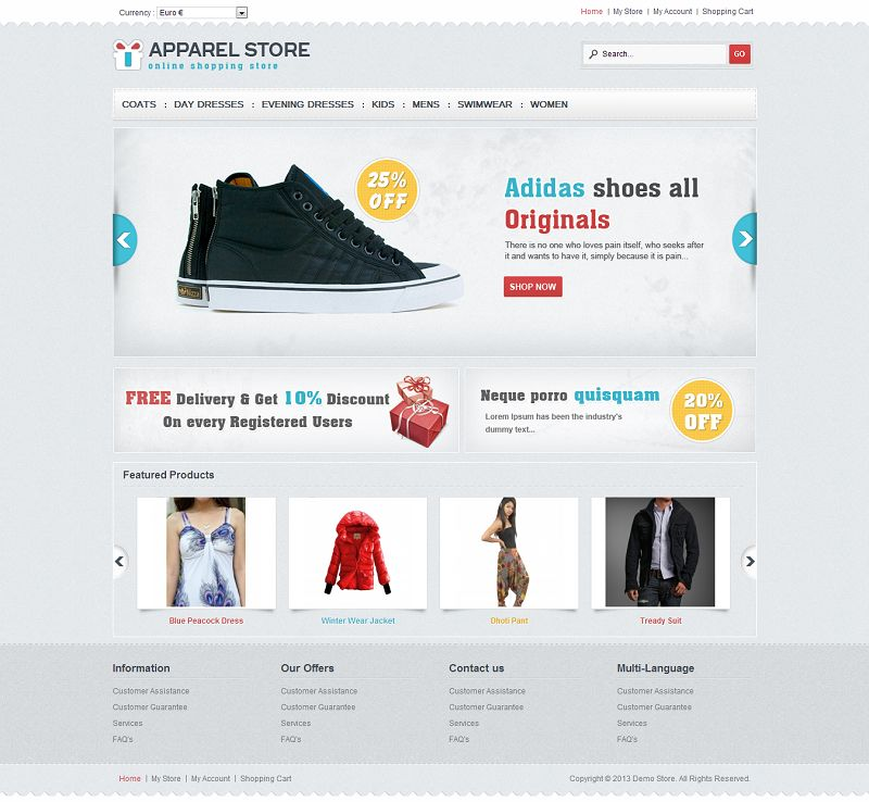 VTM040091 – Apparel Store
