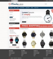 VTM040092 – Watch Store