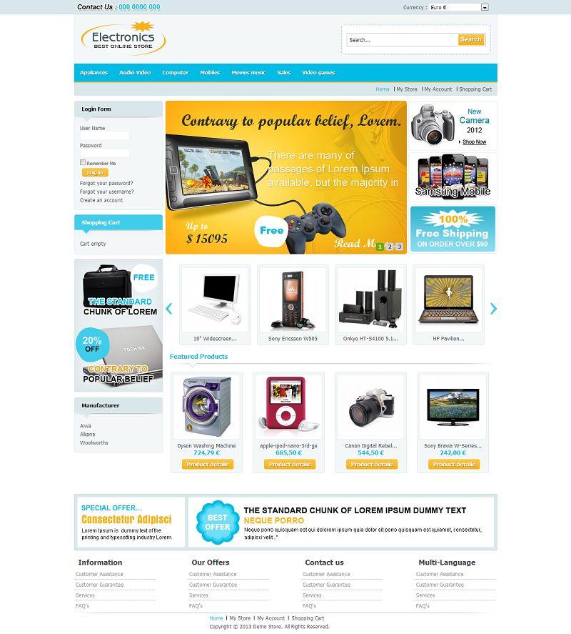 VTM040093 – Electronics Store