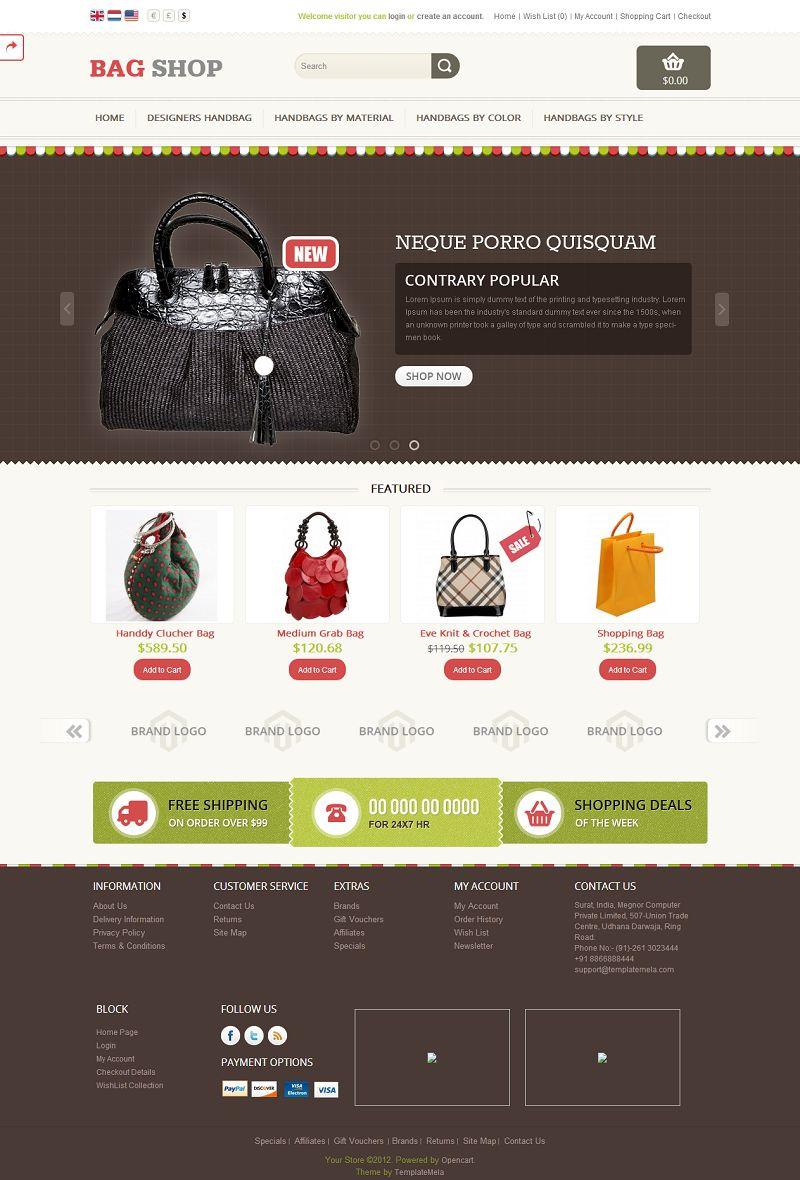 OPC060145 – Bag Store