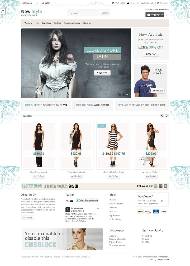 OPC060150 – Fashion Store