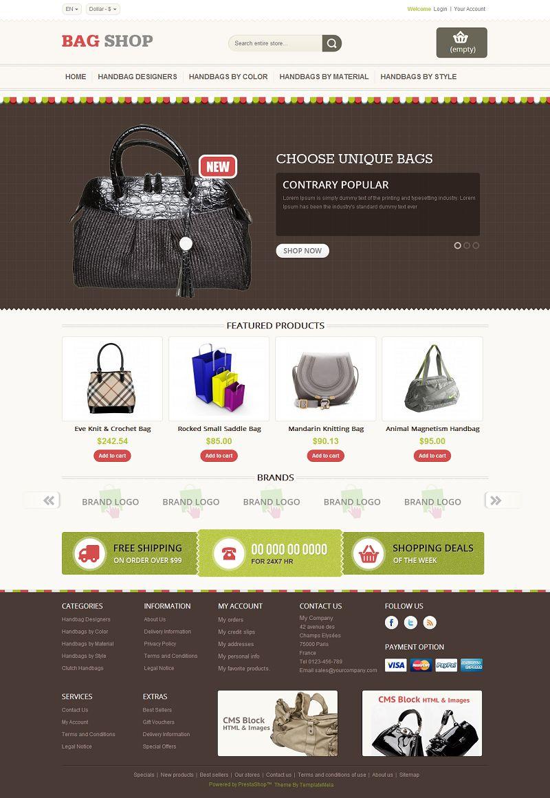 PRS060126 – Bag Store