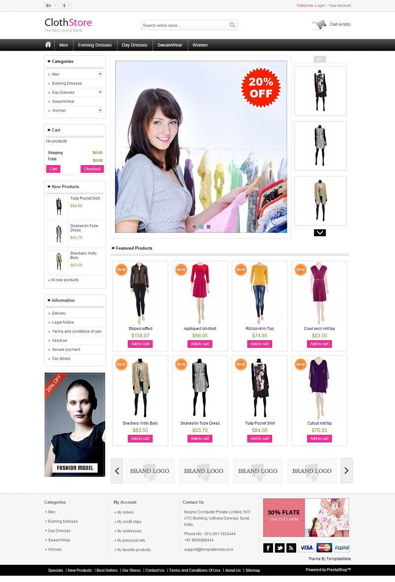 PRS060127 – Cloth Store