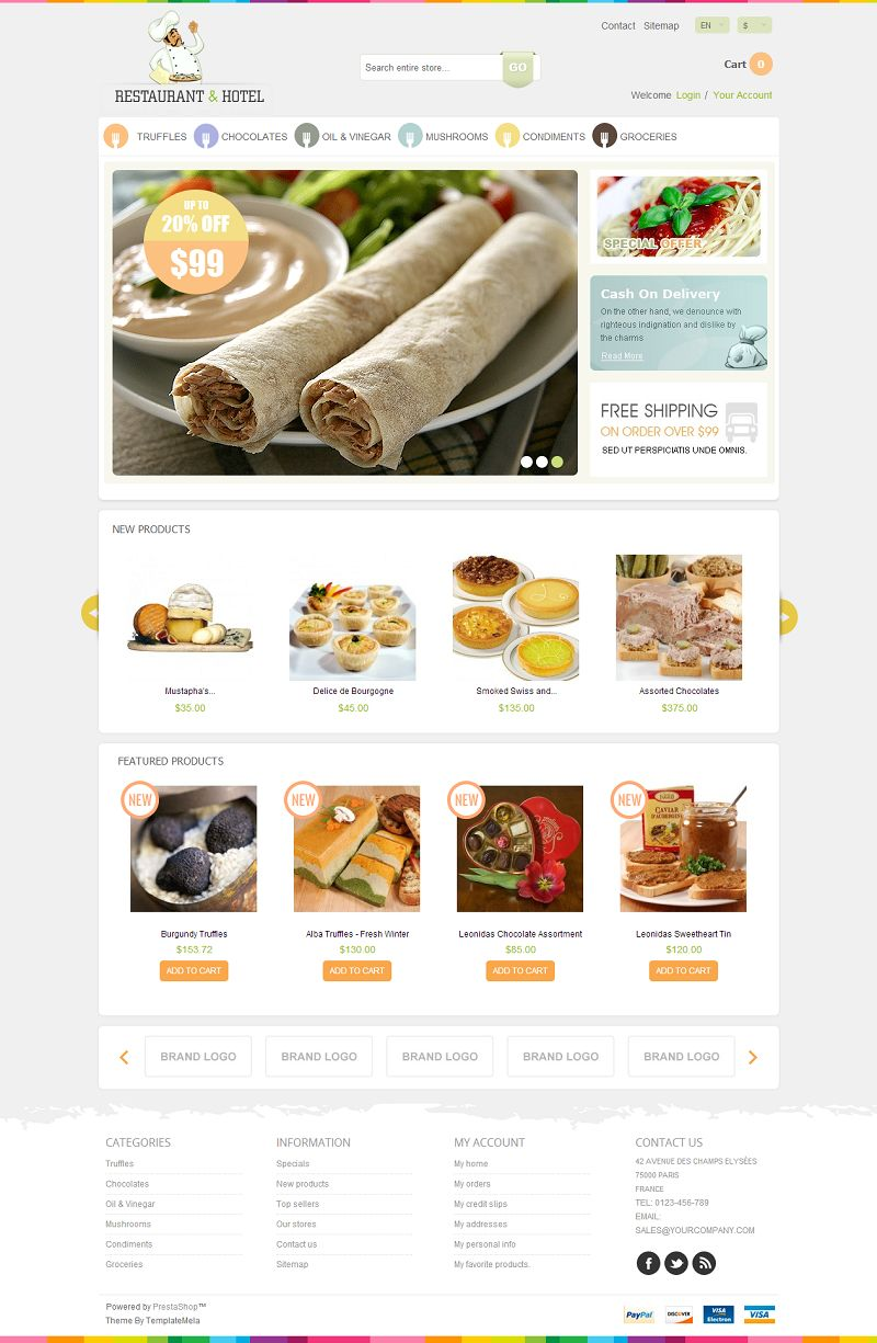 PRS060129 – Food Store